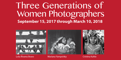 THREE GENERATIONS OF WOMEN PHOTOGRAPHERS